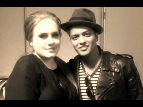 Bruno Mars Hits Out 'Diva' Adele During Their Collaboration