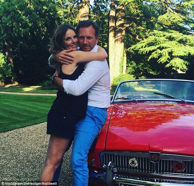 Geri Horner Announces Her And Husband Christian Horner Are Expecting First Child Together!! Announces Her And Husband Christian Horner Are Expecting First Child Together!!