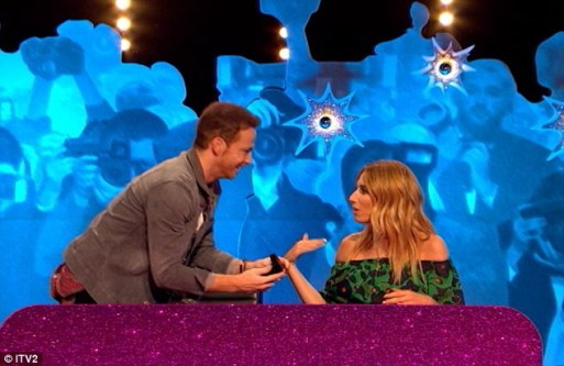 Joe Swash Proposes To Girlfriend Stacey Solomon On Celebrity Juice!!