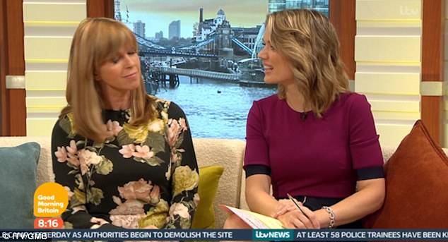 Kate Garraway Jokes Again On Good Morning Britain This Time About The Size Of Victoria Beckhams Trousers
