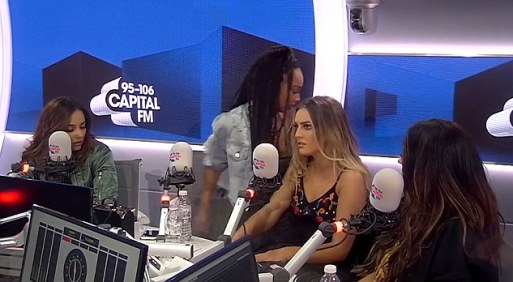 Little Mix's Leigh-Anne Pinnock Storms Out Of Interview After Being Asked About Her Ex