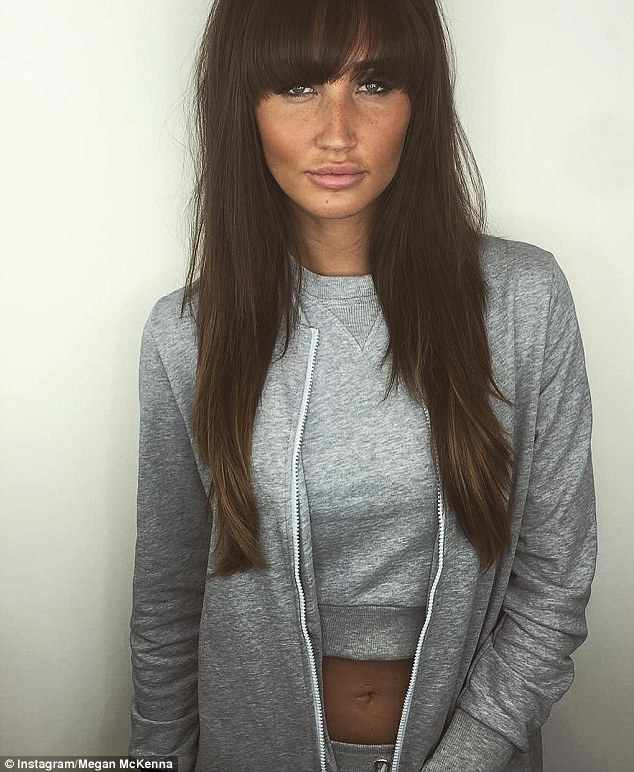 Megan McKenna Shows Off Her New Hairstyle On Instagram