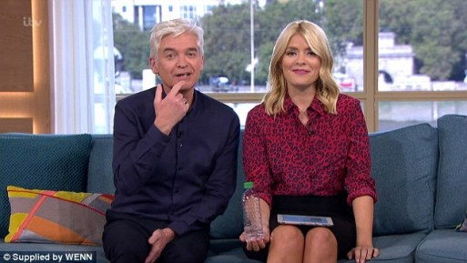 Phillip Schofield And Holly Willoughby Stop Live Show After Naked Women Spotted Out Studio Window