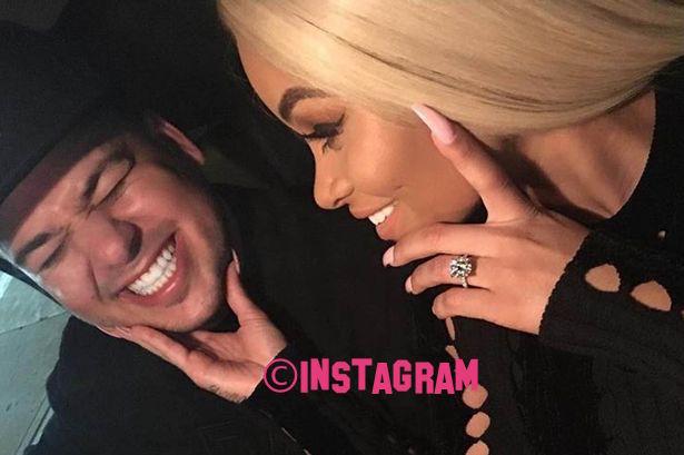 Rob Kardashian And Blac Chyna Celebrate Their Baby Shower