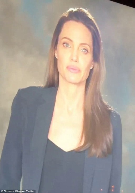 Angelina Jolie Makes Her First Speech Since The End Of Her Marriage As She Talks About Crimes Against Children