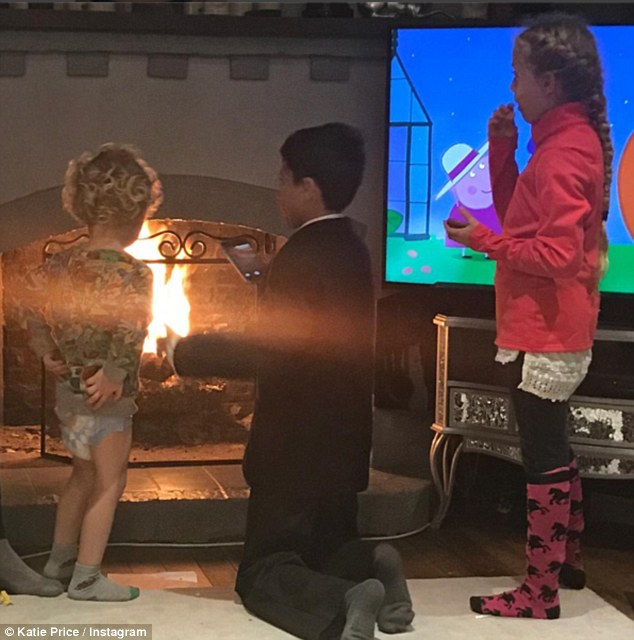 Katie Price Gets Slammed By Followers After Young Son Jett Stands Right Near Fire