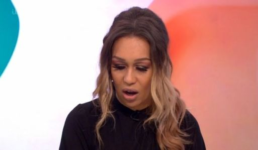 Rebecca Ferguson Cries On Loose Women As She Admits She Was sexually Abused Aged 8!