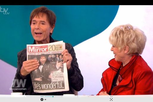 Sir Cliff Richard Is Planning A Joint Facelift With Best Friend Gloria Hunniford in a 'Package Deal'