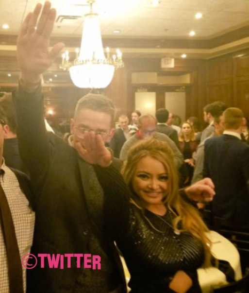 Tila Tequila Gets SUSPENDED From Twitter After Nazi Salute Post!