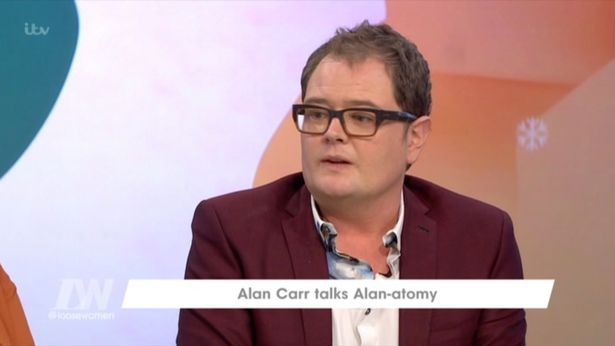 Alan Carr Talks About Former Co-Host Justin Lee Collins' Domestic Abuse