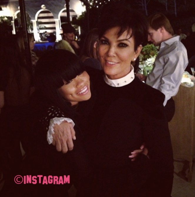 Kris Jenner Bars Blac Chyna From Attending Her Annual Christmas Party!