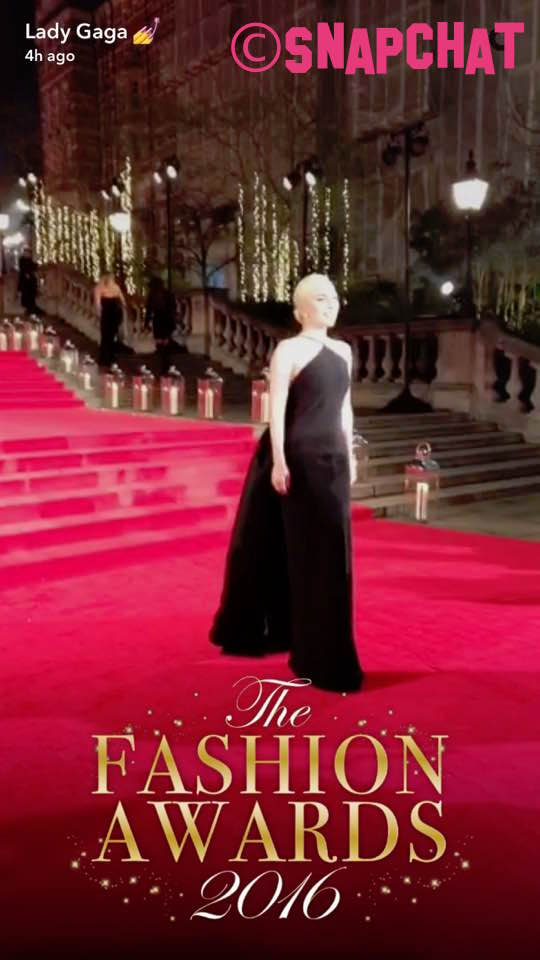 Lady Gaga Stuns At The British Fashion Awards In London