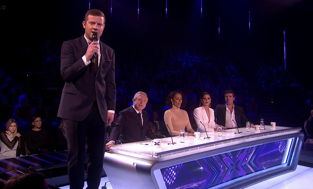 Louis walsh Admits He's Not Congratulated Pregnant Cheryl But Dermot O'Leary Will When She Announces Pregnancy