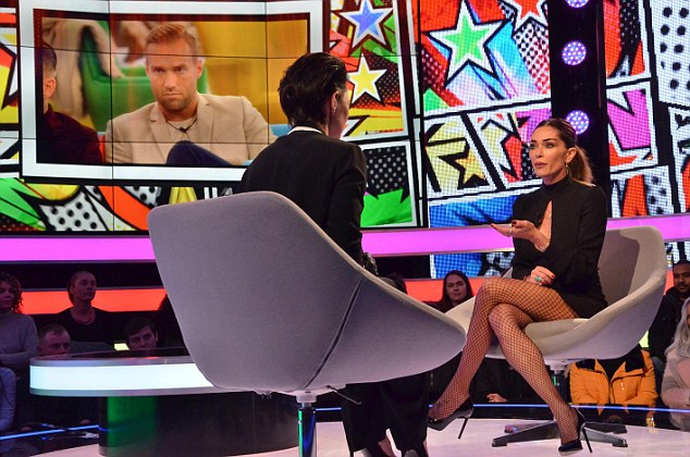 Emma Willis Is Booed By Celebrity Big Brother Audience After She Asks Evicted Housemate Jasmine Waltz To Stop Swearing