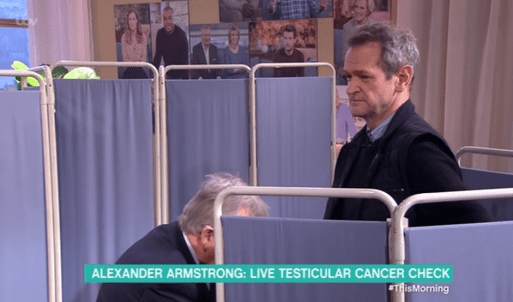 Brave Alexander Armstrong Has Testicular Cancer Test Live On This Morning