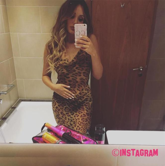 Charlotte Crosby Sparks Pregnancy Rumors After This Pre-Brit Award Photo