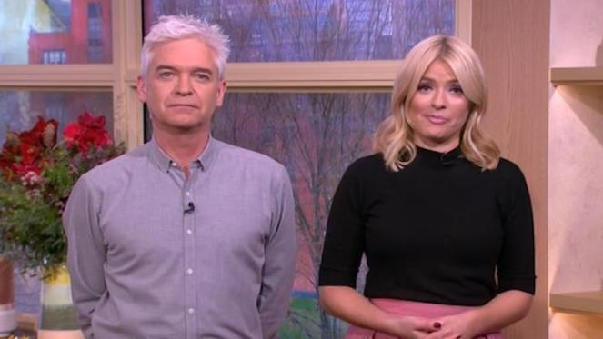 Holly Willoughby And Phillip Schofield To Leave This Morning