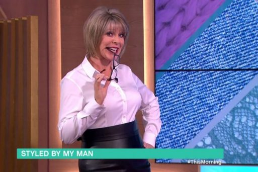 Ruth Langsford Dresses As A Sexy Secretary As Husband Eamonn Holmes Picked How She Dressed!