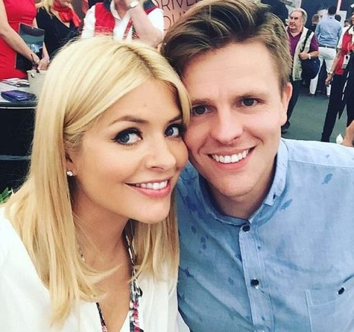 Holly WIlloughby Can't Stop Laughing After Jake Humphrey Admits They Slept Together When They Were 15-Years-Old