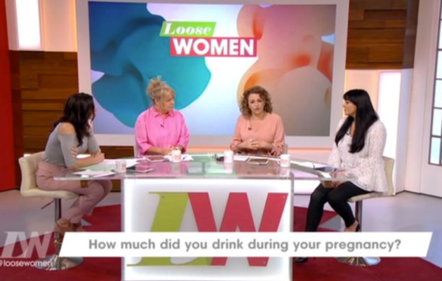 Nadia Sawalha Admits She Drank Alcohol While She Was Pregnant Live On Loose Women