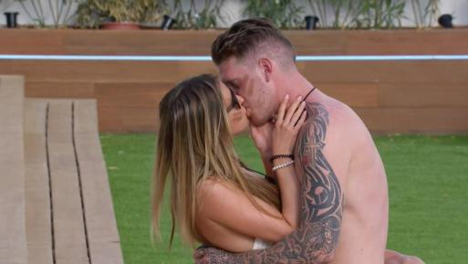Love Island's Camilla Thurlow Snogs Craig Lawson Just Days After Being Dempted By Johnny
