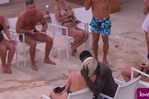 Love Islands Marcel Snogs New Girl In Villa Breaking Gabby's Heart