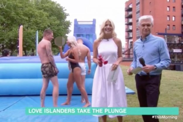 Love Island's Chyna Ellis SWEARS Live On This Morning