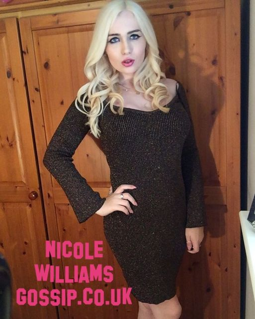Nicole Williams Gossip Dresses In Miss Selfridge Dress While On Nightout In London Town!