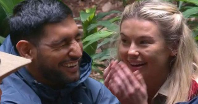Amir Khan And Georgia Toffolo Voted To Do Next Trial AGAIN On I'm A Celebrity