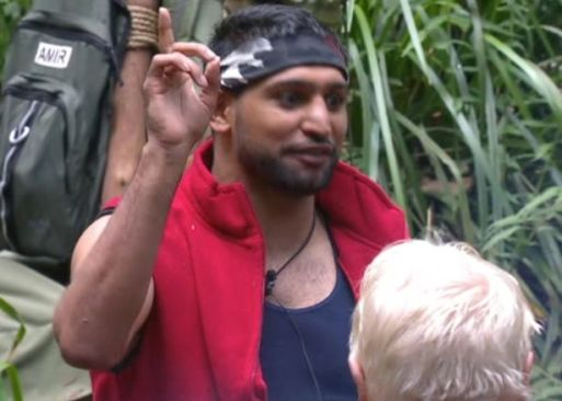 Amir Khan and Rebeka Vardy To Be Removed From I'm A Celebrity??
