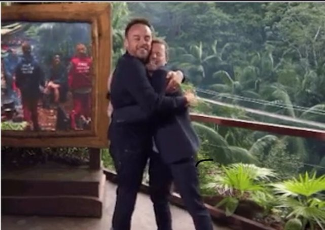 Ant And Dec Kick Off New I'm A Celebrity Series With A Hug