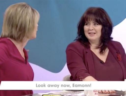 "Coleen Nolan Calls Ruth Langsford An ""Old Slapper"" After She Fell On Top Of Anton Du Beke On Strictly Come Dancing"