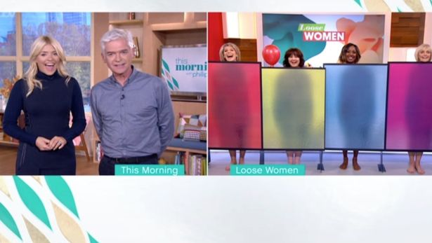 Phillip Schofield Left Shocked After Loose Women Are Naked On LIVE TV