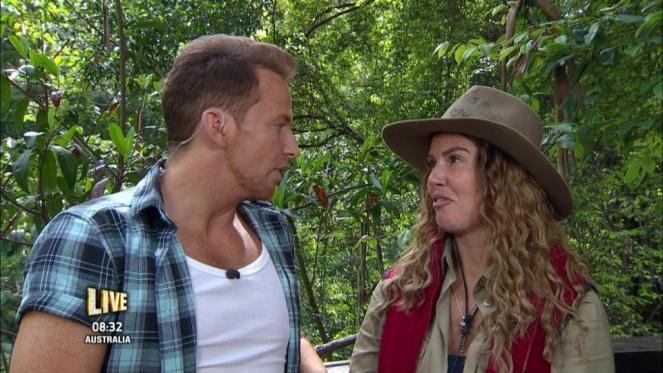 I'm A Celebrity's Rebekah Vardy Calls Joe Swash a WEASEL After He Calls Her 'A Man'