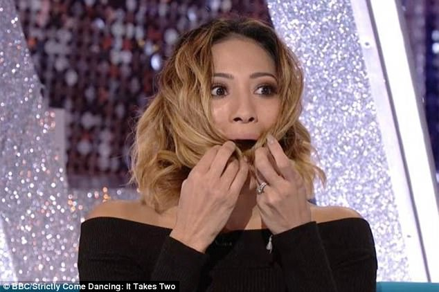 Karen Clifton'Bra Falls Down on Strictly Come Dancing It Takes Too Leaving Her Embarrassed