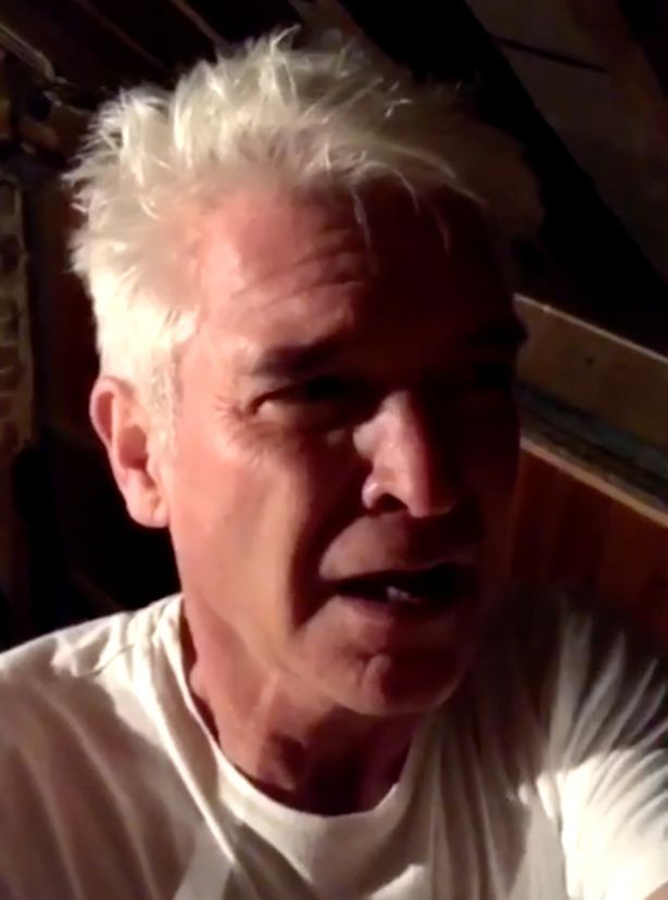 Phillip Schofield Smashes Up House Alarm In Snapchat Video
