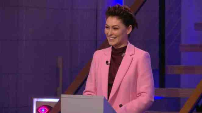 Emma Willis Suffers A Cold While Presenting Celebrity Big Brother Semi Final Show