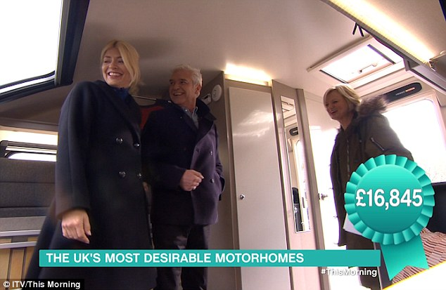 Holly Willoughby Leaves This Morning Viewers In Hysterics After 'Blonde Moment' With Caravans