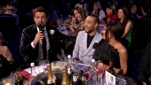 Liam Payne And Cheryl Upstaged By Woman In Audience
