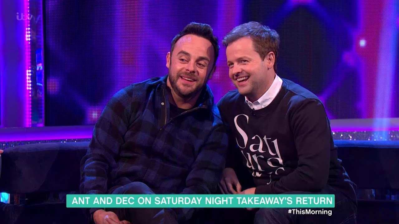 Hugs And Tears! Just What Happens When Dec Donnelly Meet Up With Ant McPartlin After His Car Crash?