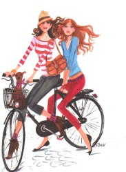 Bicycle built for 2...