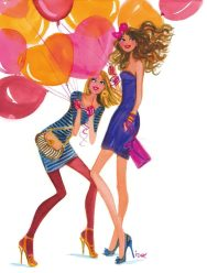 Balloons- all over it!
