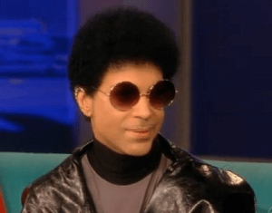 Prince today, older, wiser.