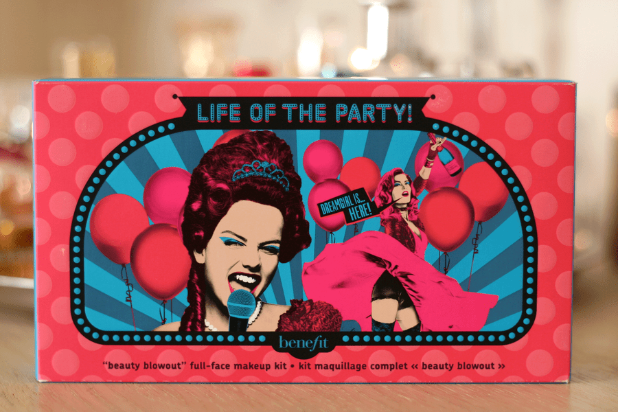 Benefit Life Of The Party Beauty Blow-Out Full Face Makeup Kit
