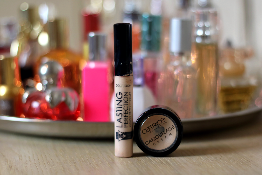 Collection Lasting Perfection Concealer & Catrice Camouflage Cream