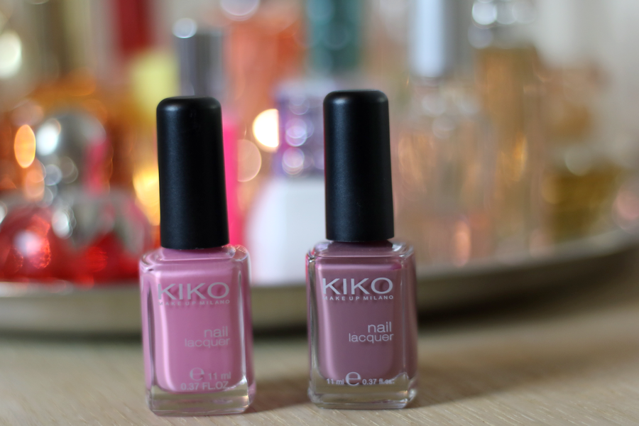 Kiko Nail Polishes