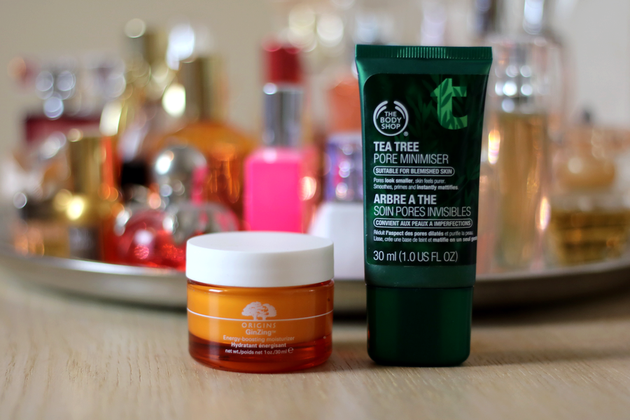 Origins Ginzing Moisturiser & TBS Tea Tree Serum