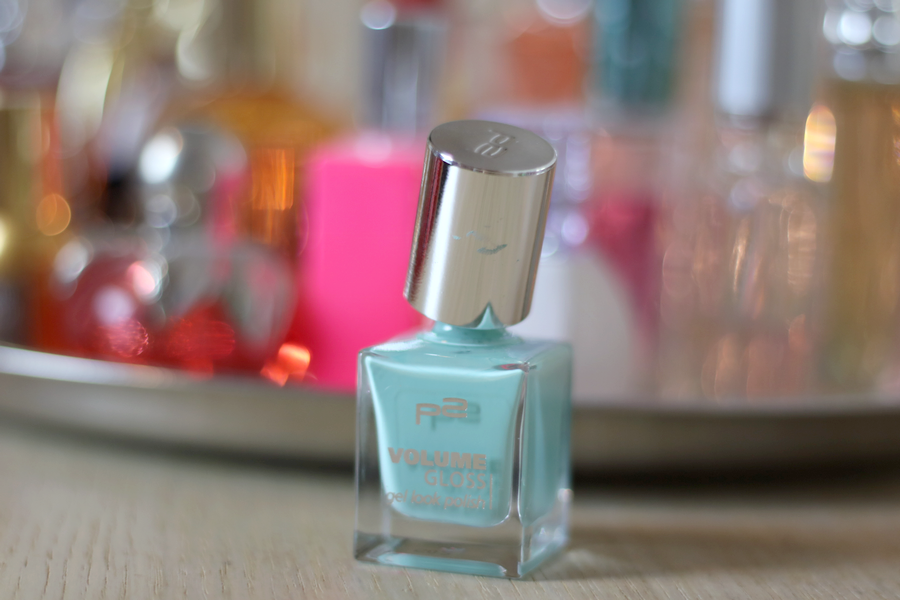 P2 Volume Gloss Nail Polish Flirty Florist