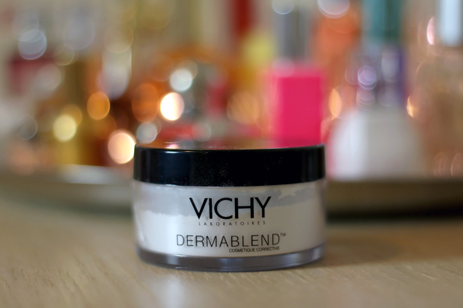 Vichy Dermablend Setting Powder Packaging