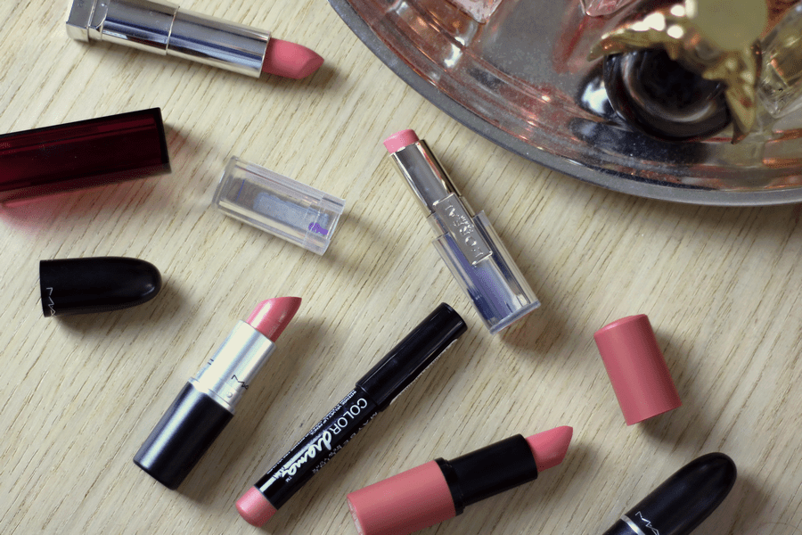 Favourite Pink Lippies